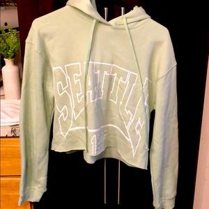 Wild Fable Seattle crop hoodie